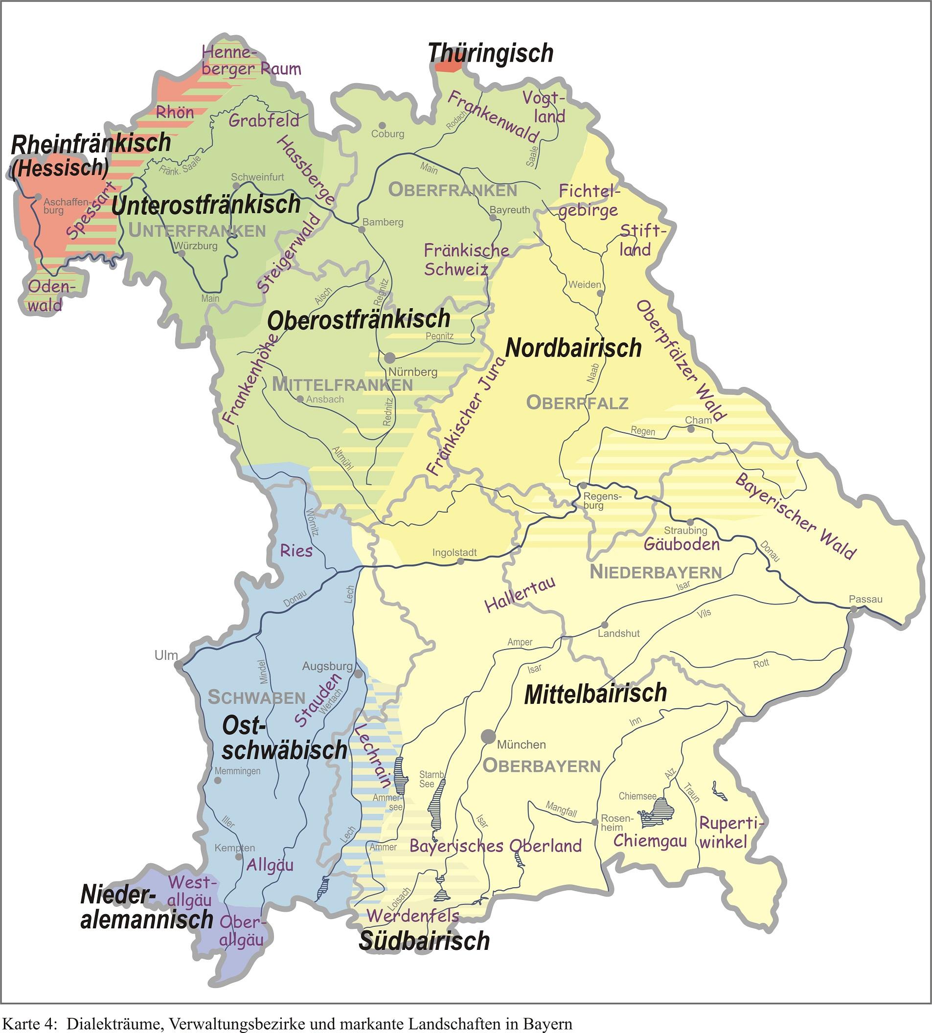 Bayrisch Dialekt